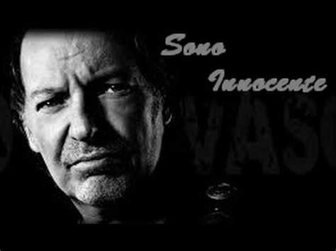 Vasco Sono Innocente Album by Vasco Anticipazioni Nuovo Album Quot Sono Innocente