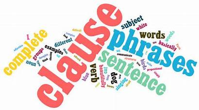 Clauses Phrases English Language Clipart Clause Dependent