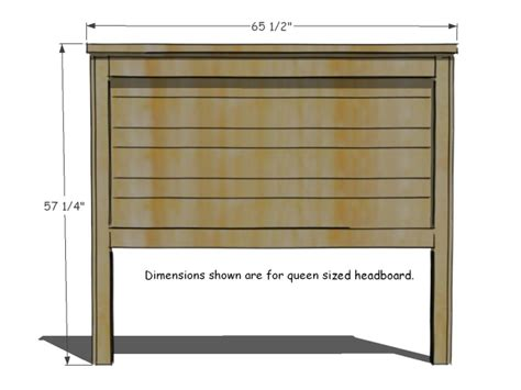 How To Make A Queen Size Headboard Michalchovaneccom