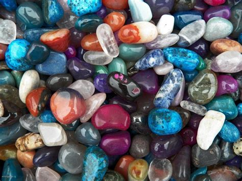1000 carat lots of size 5 tumbled polished gemstones a free faceted gemstone ebay