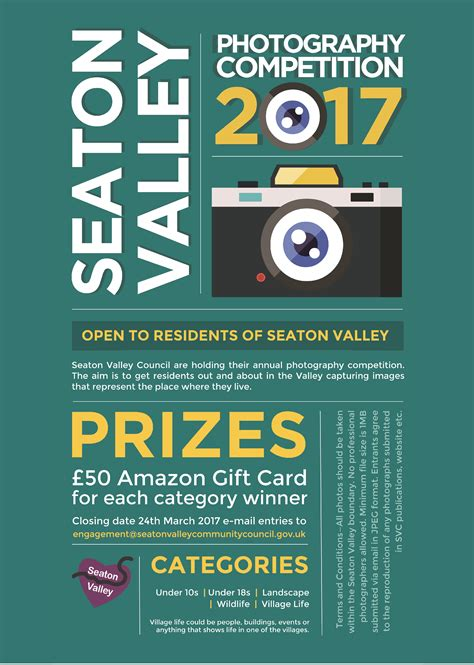 Photography Competition 2017  Seaton Valley Council