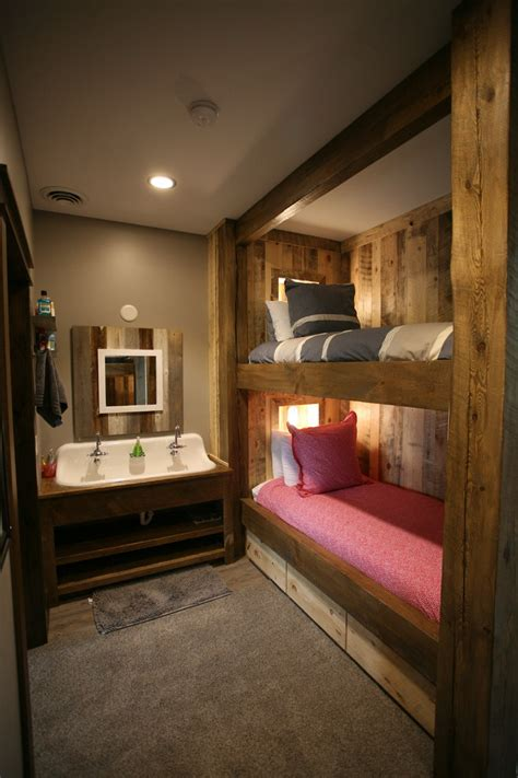 fantastic rustic kids room   mountain cabin