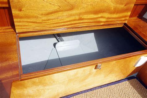 Boat Seat Locker by Cove 18 Boat Test Classic Boat Magazine