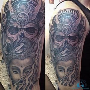 Tatouage Japonais Bras : un bras tout en nuances de gris pour un tatouage en ~ Melissatoandfro.com Idées de Décoration