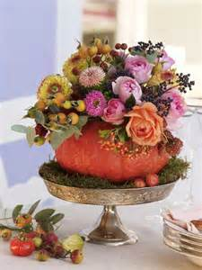 fall arrangements for tables herbstblumen deko zum selbermachen