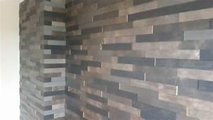 habiller un mur interieur nouveau produit parement With habillage mur interieur en bois