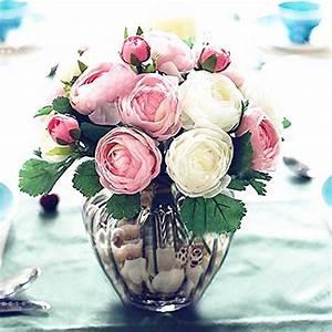 Rose Blanche Artificielle : bouquet fleurs artificielles livraison fleurs toulouse maison retraite champfleuri ~ Teatrodelosmanantiales.com Idées de Décoration