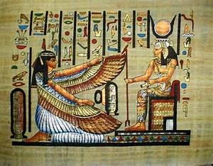 Ancient Egyptian society treated men and women equally ...