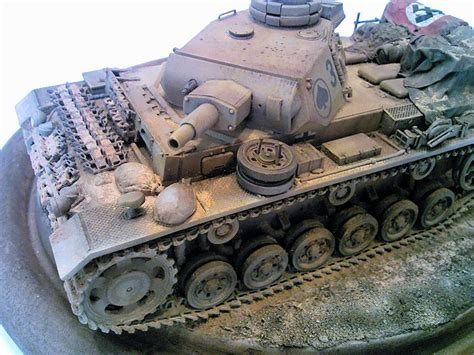 Tamiya 1/35 Panzer Iii Ausf N, By Jack Bruno