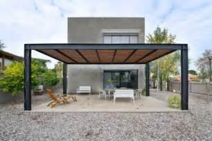 rattan sofa covered terrace 50 ideas for patio roof of modern houses fresh design pedia