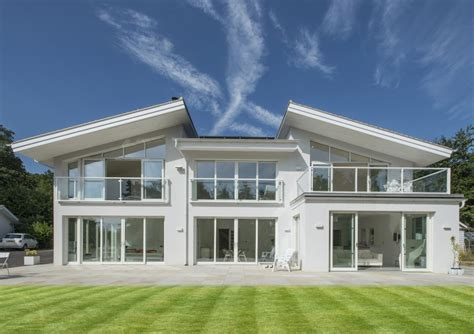 Home Design Uk by Scandia Hus Hill View Timber Frame Contemporary Design