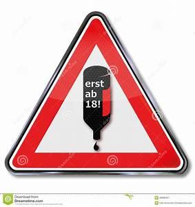Apps Ab 18 Jahren : kein alkohol unter 18 vektor abbildung bild 49989421 ~ Lizthompson.info Haus und Dekorationen