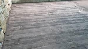 pose b ton cir et imprim bordeaux pessac st andr de cubzac With prix terrasse beton imprime