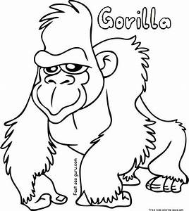 Gorilla Coloring Sheets Free Printable For KidsFree Bekijk Sing Movie 0004 Johnny