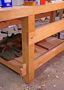 21st-Century Workbench Leg Joints - Popular Woodworking