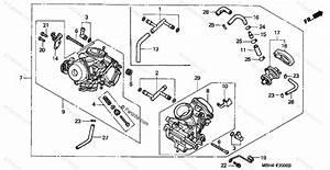 Honda Motorcycle 1998 Oem Parts Diagram For Carburetor