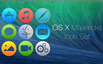 Icon Os Icons Pack Packs Mavericks Honorable