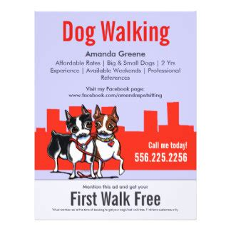 Dog Walking Flyers & Programs  Zazzle. Casting Call Flyer Template. Power Washing Flyer. Women Tank Top Template. Mla Format Template Works Cited. Resident Referral Flyer. Excellent Ebay Invoice Template. Poster Design App. Golden Ticket Template Editable