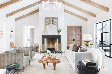 cottage style home filled  eclectic pieces