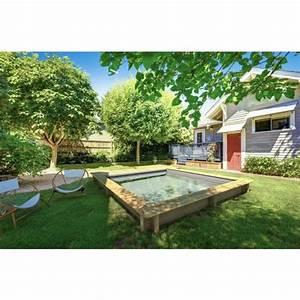 Grande Piscine Hors Sol : une petite piscine qui a tout d une grande piscine ~ Premium-room.com Idées de Décoration