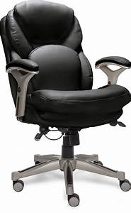 Serta, Ergonomic, Executive, Office, Motion, Technology, Adjustable, Mid, Back, Desk, Chair, With, Lumbar