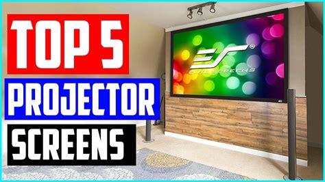 Best Motorized Projector Screens in 2020 Top 5 Projector
