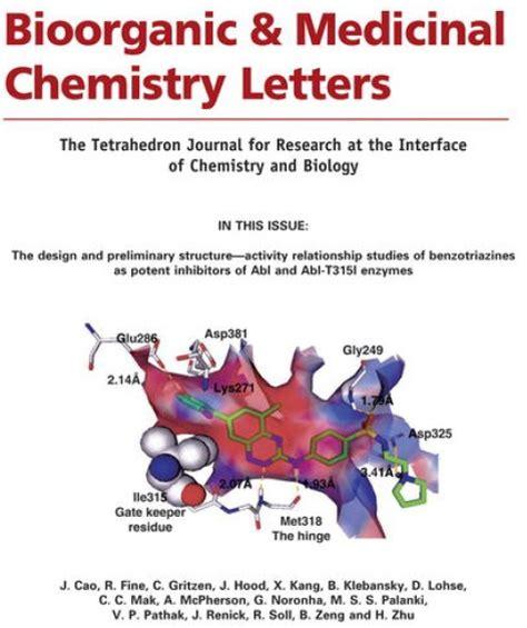 bioorganic  medicinal chemistry letters levelings
