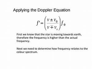 The Doppler effect