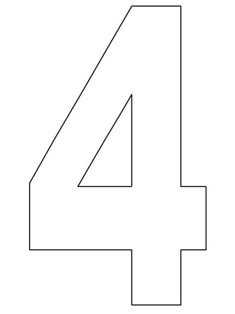 preschool number  template math activites number