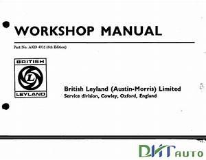 Mini Cooper 1971 Service Repair Manuals