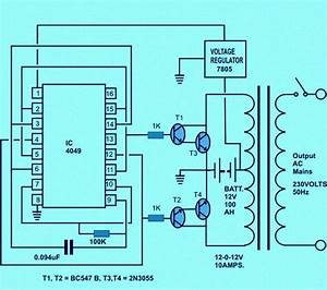Home Wiring Diagram For Inverter