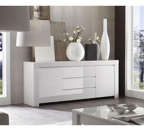 House De Canape D Angle - meuble de rangement 2 portes 3 tiroirs moderne laqué blanc