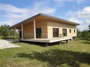 Prix Maison En Bois En Kit : extension maison ossature bois en kit top maison en bois ~ Nature-et-papiers.com Idées de Décoration
