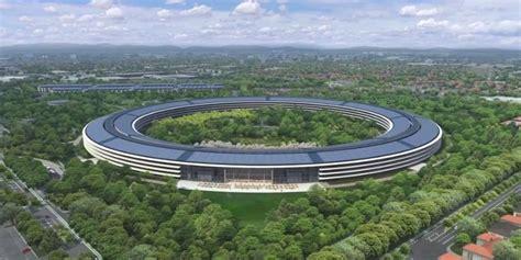 siege apple vidéo cus apple découvrez la première vue 3d du bâtiment
