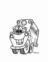 Ambulance Coloring Ems Printable Transportation Transport Kleurplaat Coloriage Ziekenauto Dessin Kleurplaten Week Sketchite Coloriages Sketches sketch template