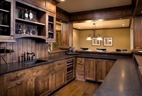 interesting rustic kitchen designs home design lover