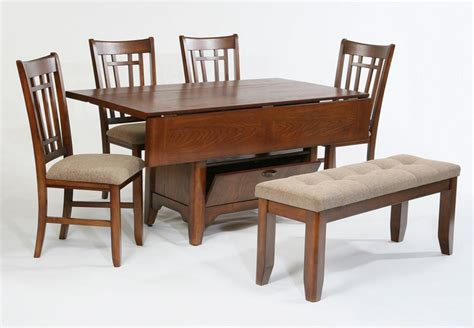 dining table compact dining space arrangement with drop leaf dining