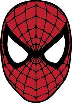 spiderman mask  svg cut files pinterest