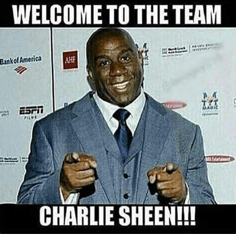 Magic Johnson Meme - so wrong internet drags magic johnson into charlie sheen s hiv reveal i love old school music