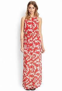 robe rouge fleurie With affiche chambre bébé avec robe a fleur longue