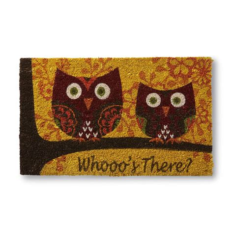 Autumn Doormat by Essential Home Autumn Welcome Mat Owls Home Home