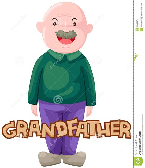 letter  grandfather royalty  stock photography