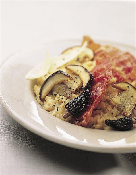 cepes cuisine risotto aux c 234 pes et au jambon de parme pour 4 personnes