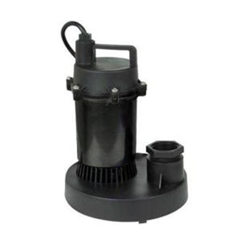 aquapro 1 4 hp submersible utility pump 51081 0 the home