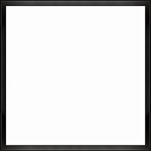 "Studio Black Wood Angle Frame 24""X24"" - Canvas Art ..."