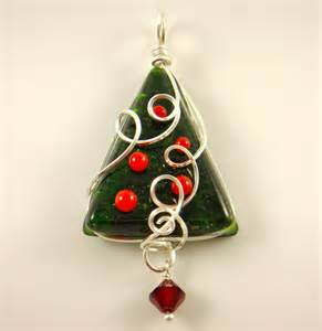 360 fusion glass blog making merry with fused glass holiday pendants