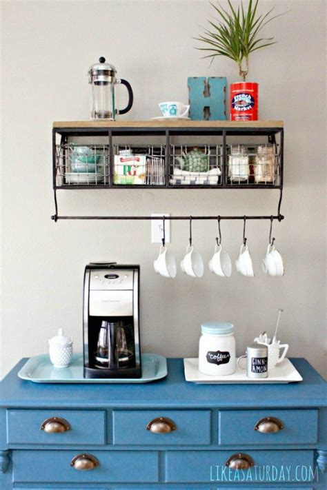 Single serve coffee makers for office coffee bar. 40 Ideas To Create The Best Coffee Station - Decoholic