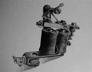 Tattoo gun drawing by robiartimre on DeviantArt