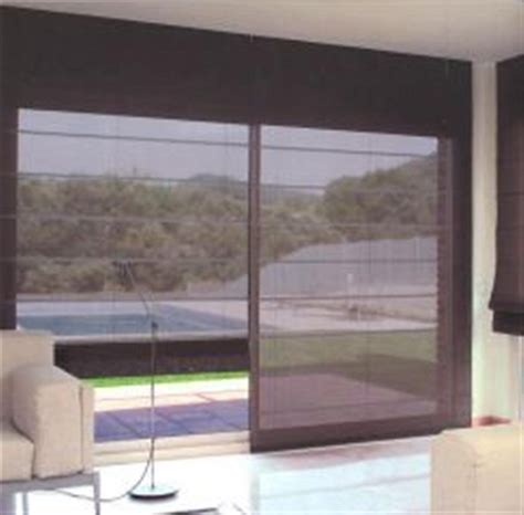 persianas  cortinas enrollables panel romanas   hm