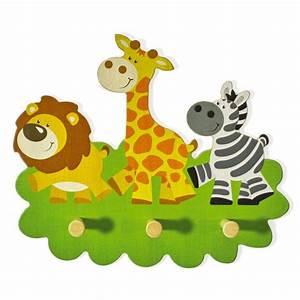 Tiere Für Kinder : garderobe kinder tiere holz giraffe kindergarderobe 3 ~ Lizthompson.info Haus und Dekorationen